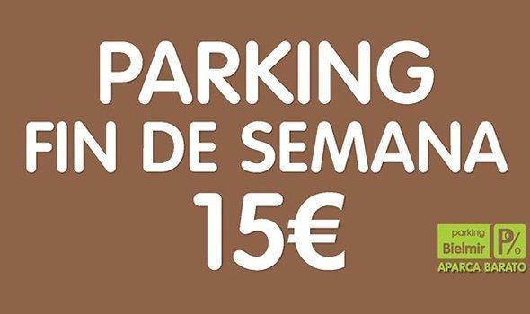PARKING FINDE 15 €Aparcar todo el fin de semana en el centro de Madrid por 15 euros es verdad.